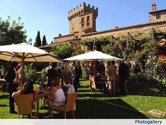 Medieval Wedding Castle & Village in Tuscany